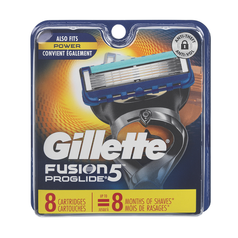Gillette Fusion ProGlide Manual Blades - 8 cartridges