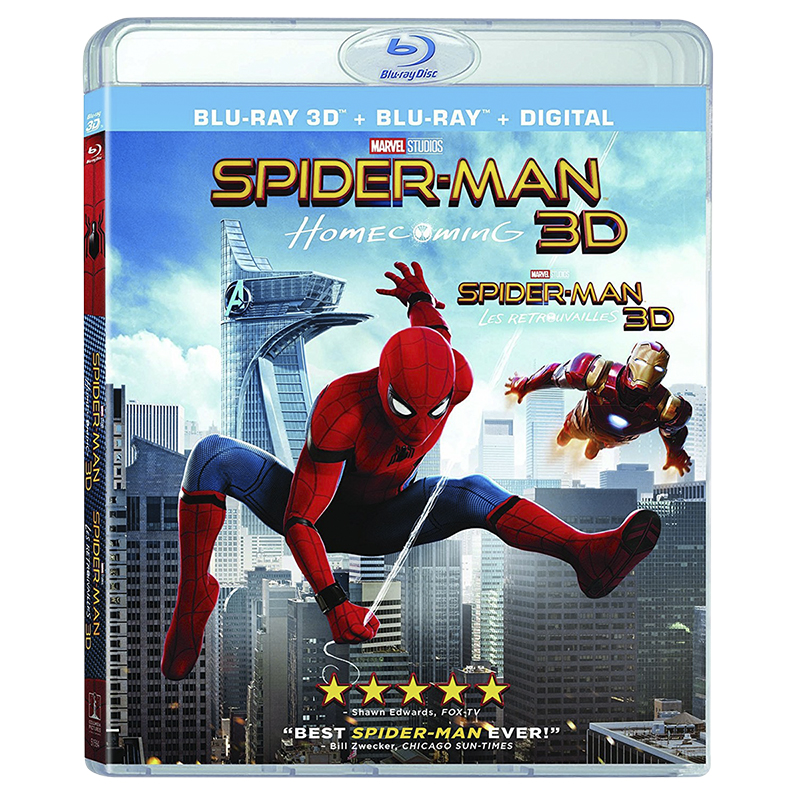 Spider-Man: Homecoming - 3D Blu-ray