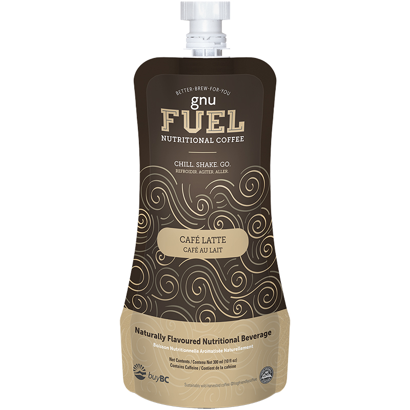 GNU Fuel Nutritional Coffee - Café Latte - 300ml
