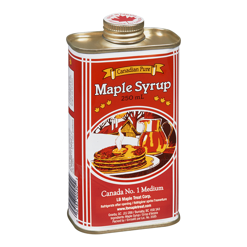 Pure Maple Syrup Tin - 250ml