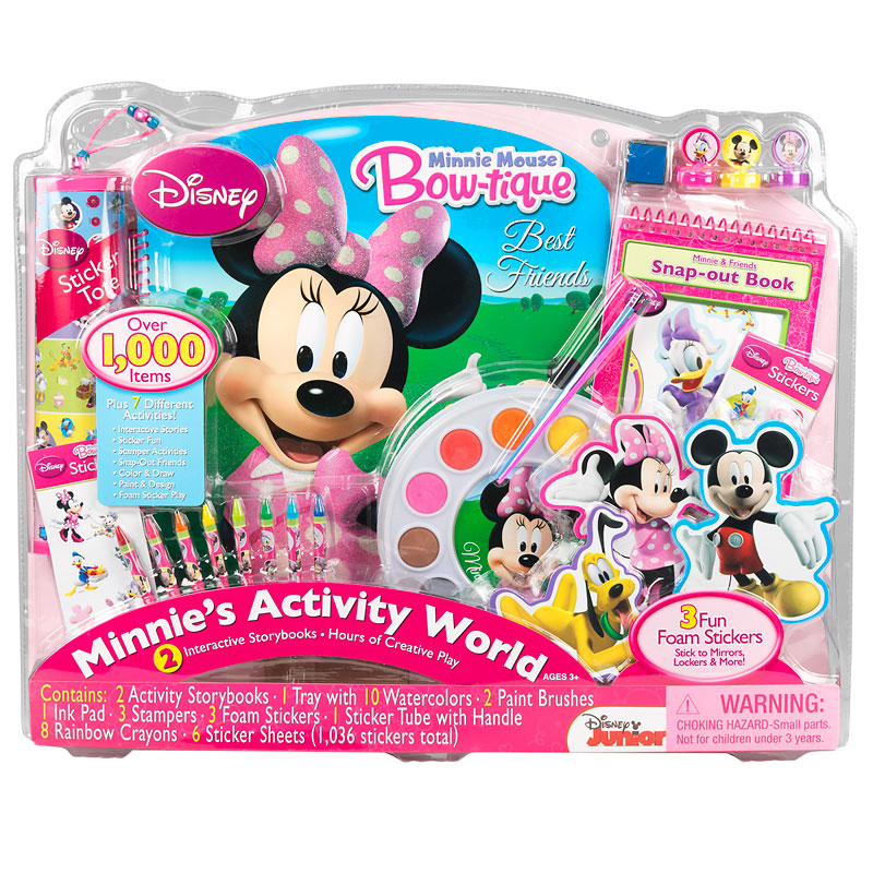 Disney Minnie Activity World Kit
