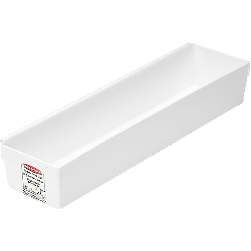 Rubbermaid Plastic Drawer Organizer - White