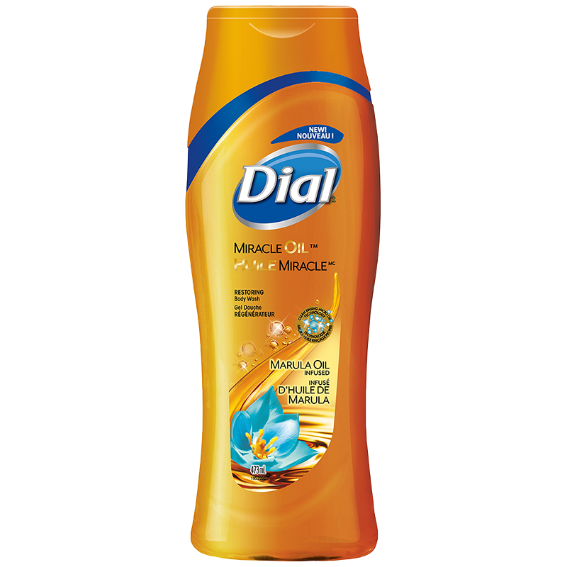 Dial Miracle Oil Body Wash - Marula Oil - 473ml