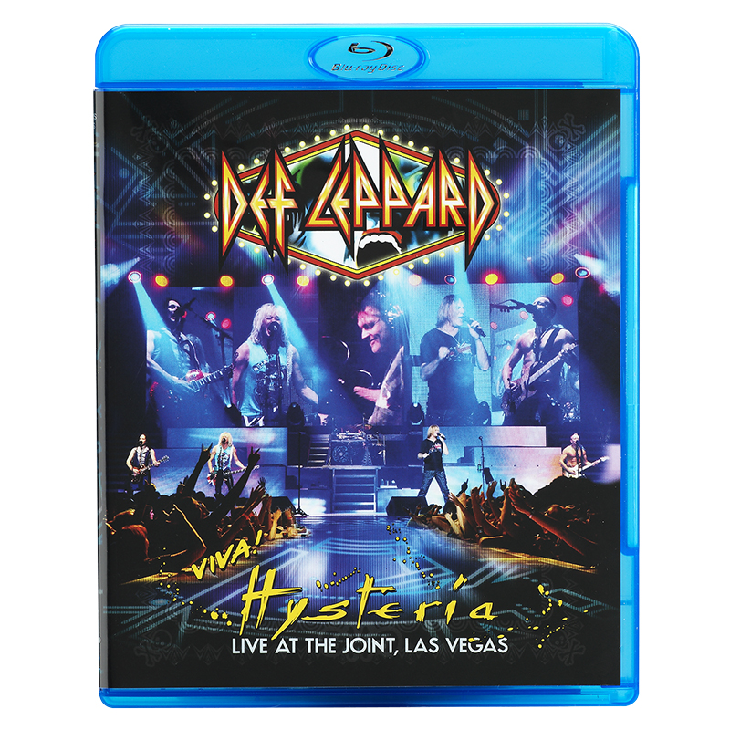 Def Leppard -Viva! Hysteria: Live At The Joint Las Vegas - Blu-ray