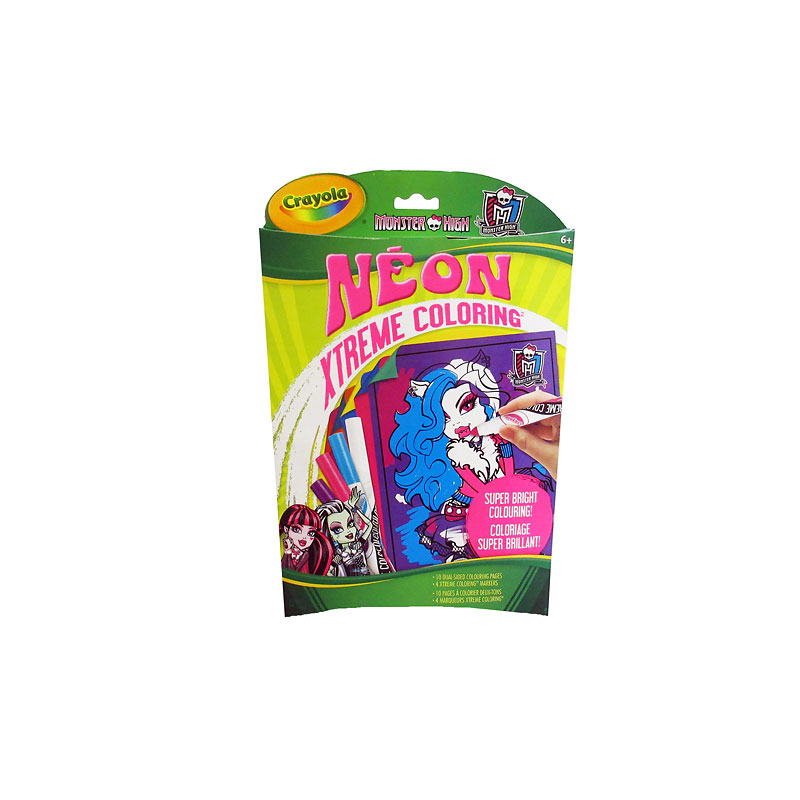 Monster HighNeon Xtreme Colouring Kit