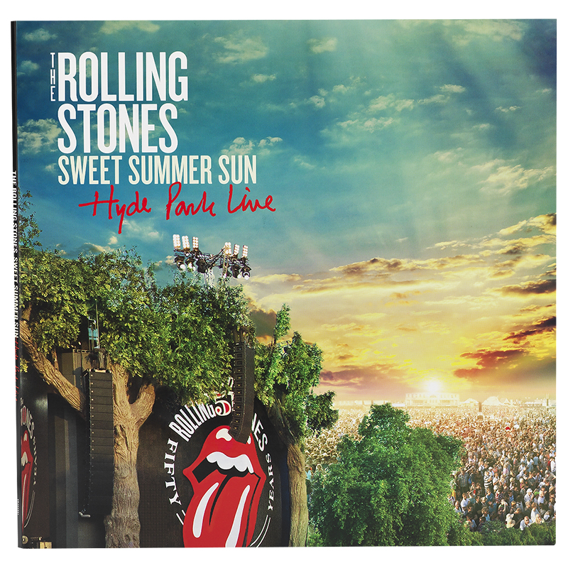 Rolling Stones The Sweet Summer Sun Hyde Park Live