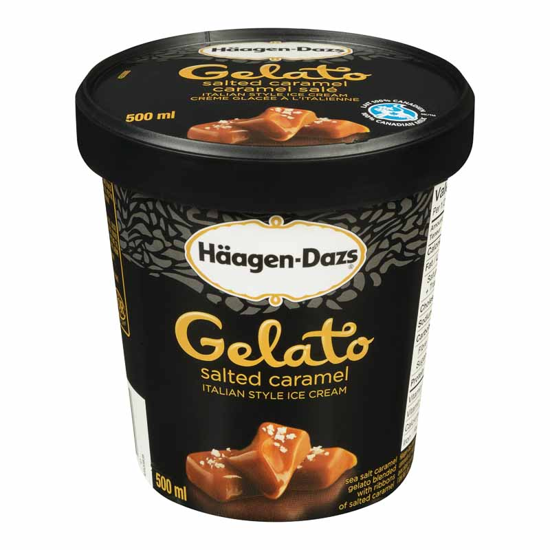 Haagen Dazs Gelato - Sea Salt Caramel - 500ml