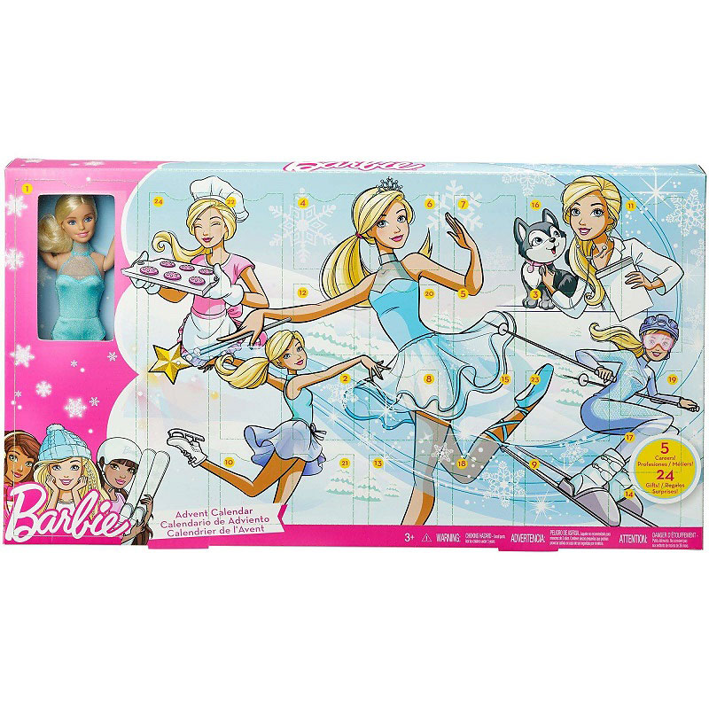 Barbie Career Advent Calendar