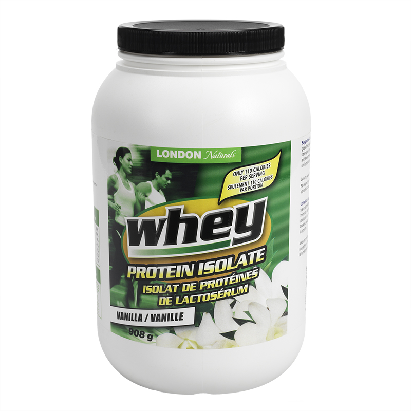 London Naturals Whey Protein Isolate - Vanilla - 908g