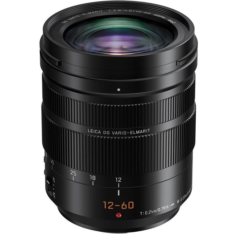 Panasonic Lumix G Leica Dg Vario Elmarit 12 60mm F2 8 4 0 Lens Black Hes12060 London Drugs