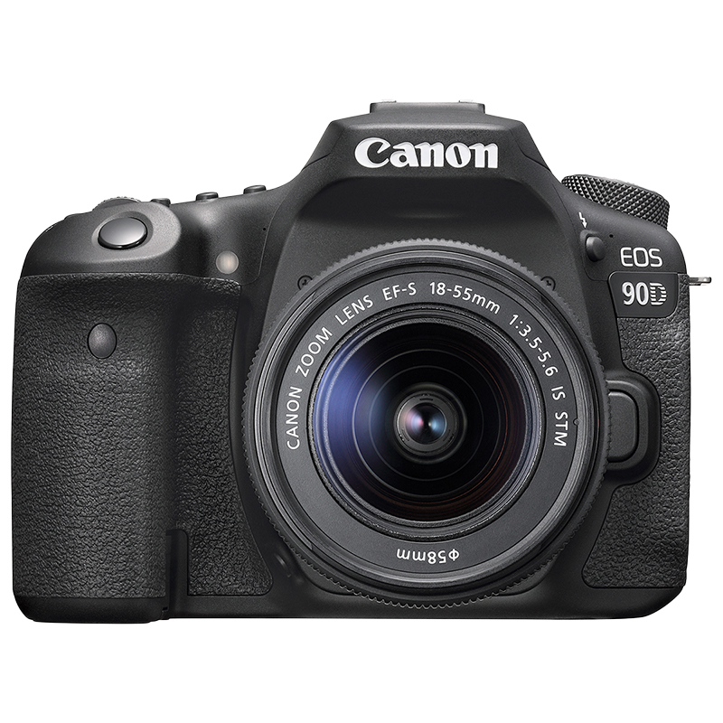 Canon EOS 90D with 18-55mm IS STM Lens - 3616C009