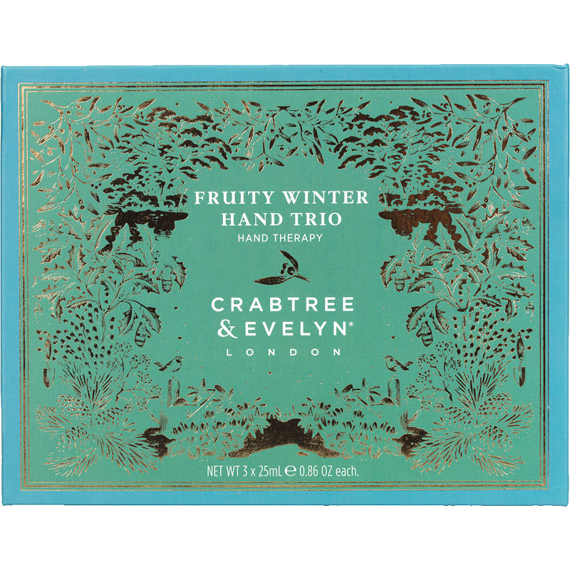 Crabtree & Evelyn Fruity Winter Hand Trio - 3x25g