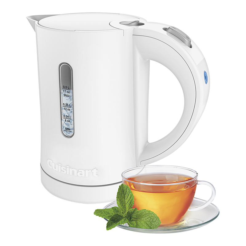 Cuisinart Quick 0.5L Kettle - White - CK-5WC