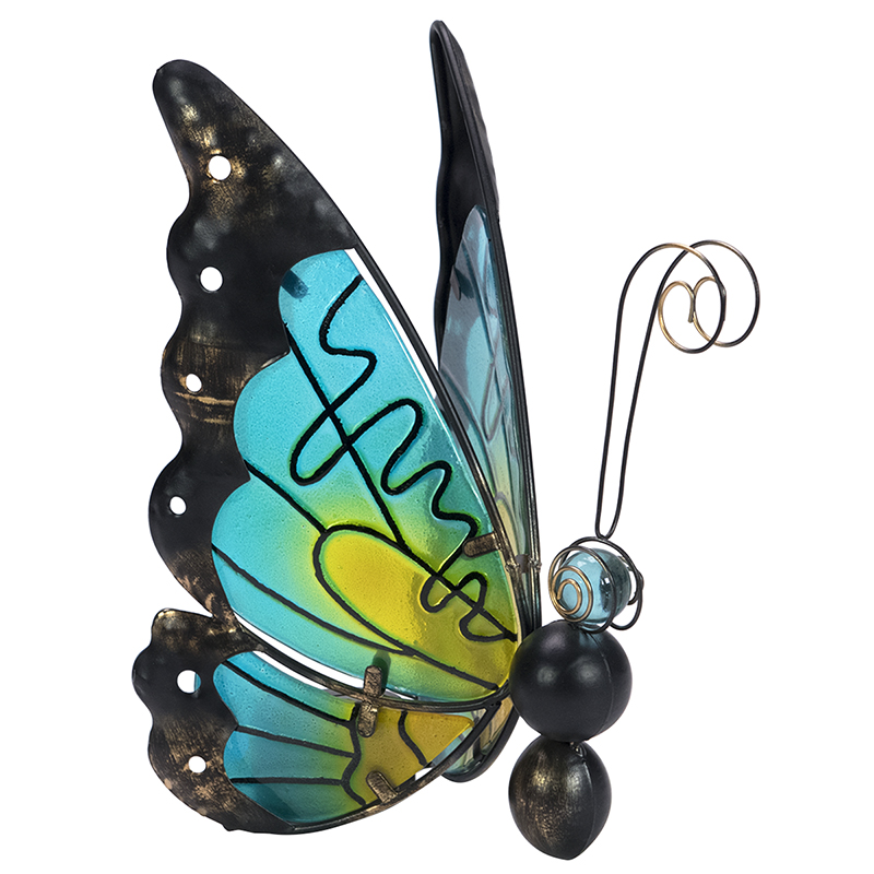 London Drugs Solar Glass & Metal Butterfly - Assorted