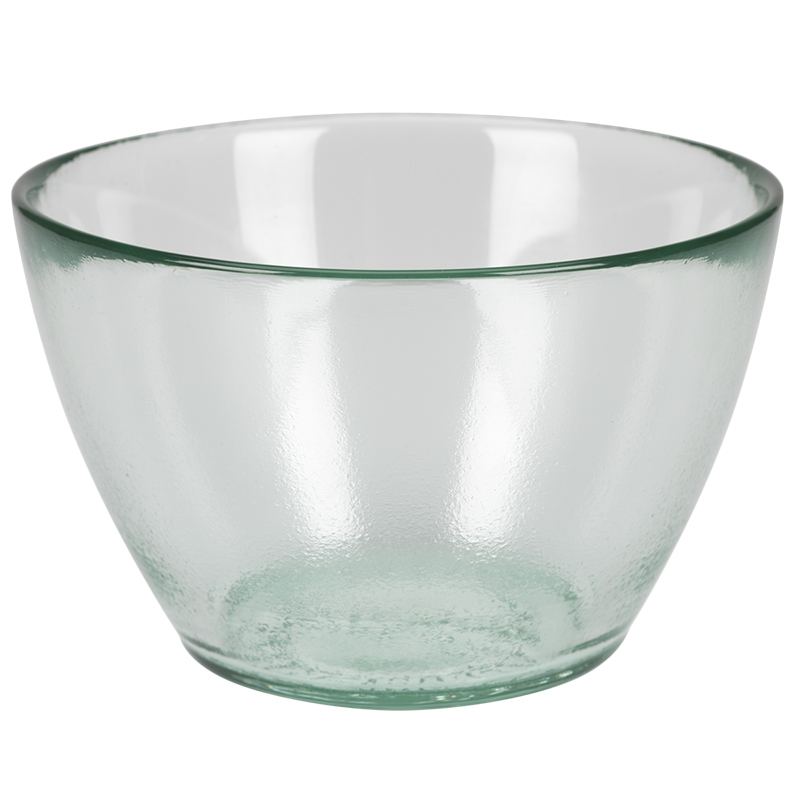 London Drugs Green Glass Authentic Bowl - 10 x 14cm