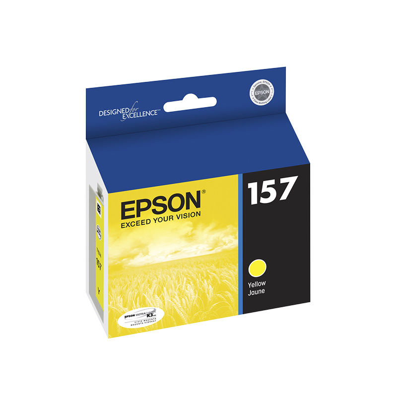 Epson 157 Ink Cartridge - Yellow - T157420