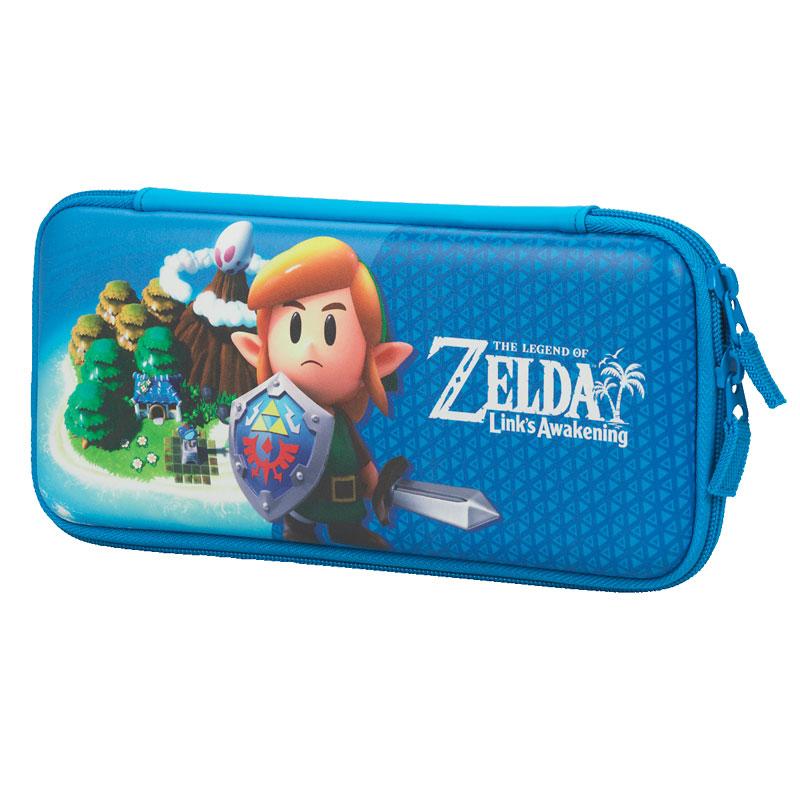 Hori Legend Of Zelda Link S Awakening Hard Pouch For Nintendo Switch Nsw 218u