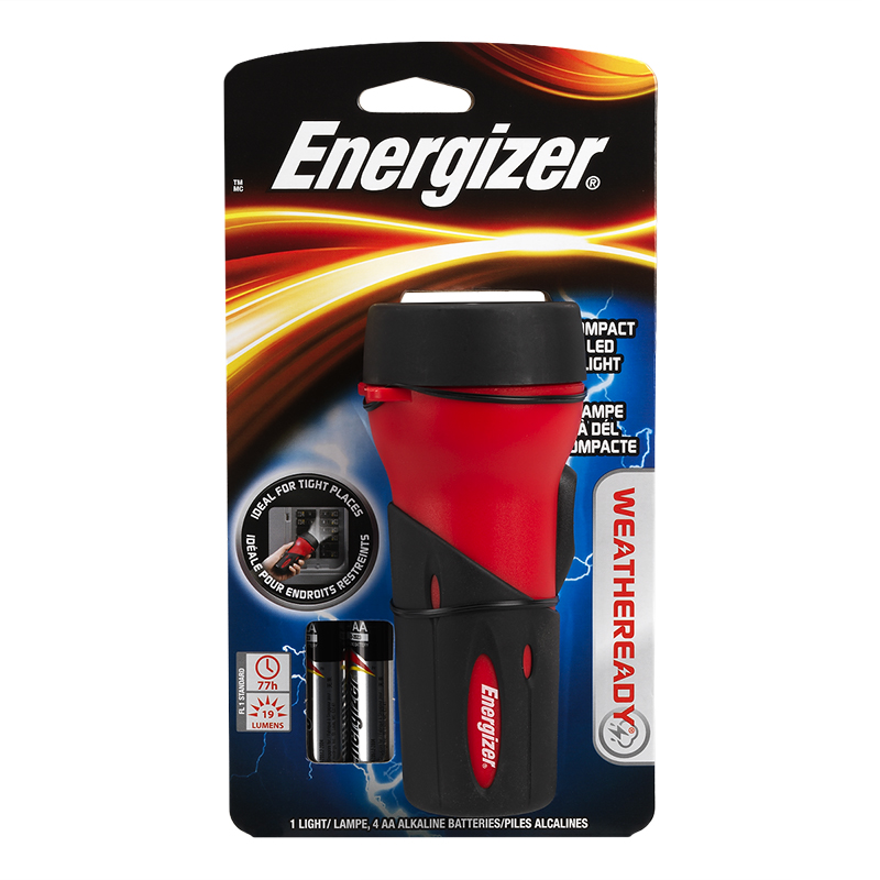 Energizer LED Compact Flashlight - WRCLD41E