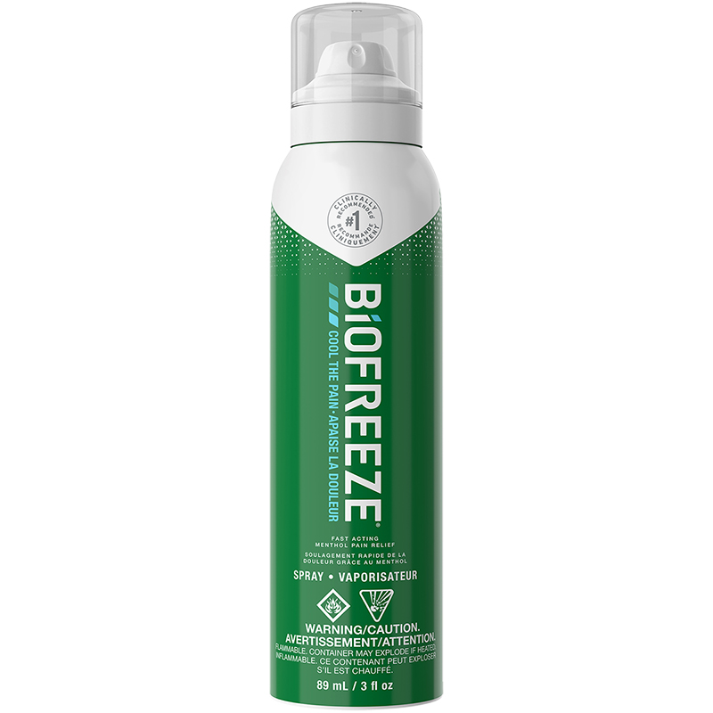 Biofreeze Cold Therapy Pain Relief Spray - 89ml
