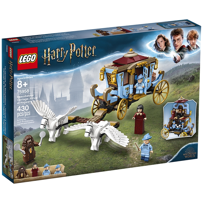 lego® harry potter  beauxbaton's carriage arrival at