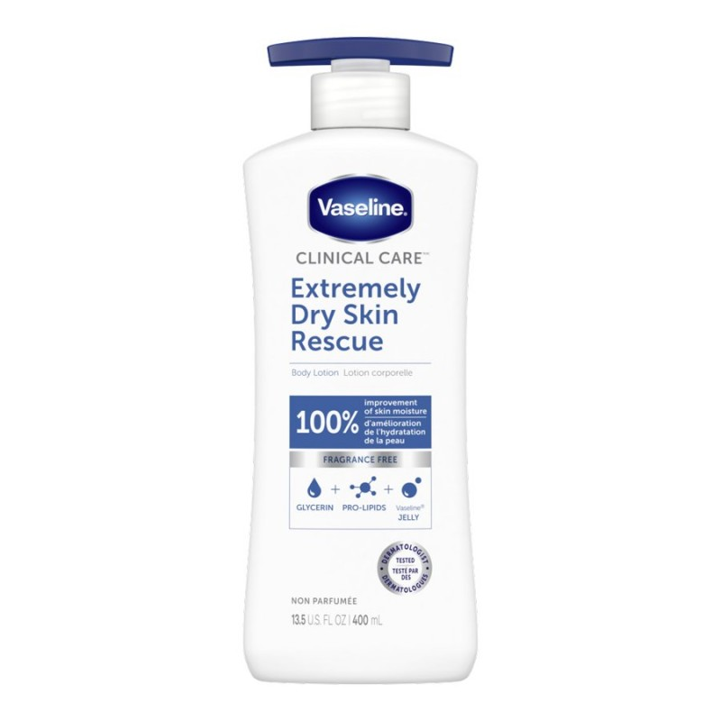 Vaseline Clinical Care Extremely Dry Skin Rescue Lotion - 400ml