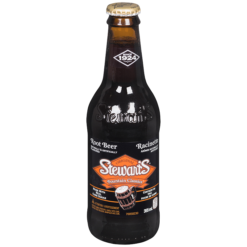 Stewart's Fountain Classics - Root Beer - 355ml