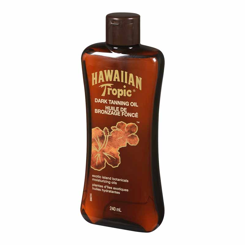 Hawaiian Tropic Dark Tanning Oil - 240ml