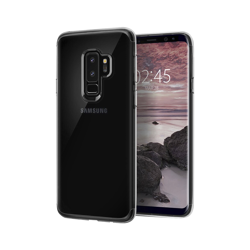 the best attitude cc8e7 d4c04 Spigen Slim Armor Case for Samsung Galaxy S9+ - Crystal Clear -  SGP593CS22971