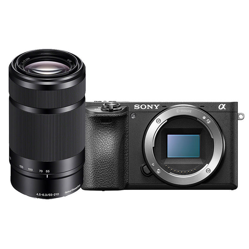 Sony a6500 with 55-210mm F4.5-6.3 Lens - PKG #30020
