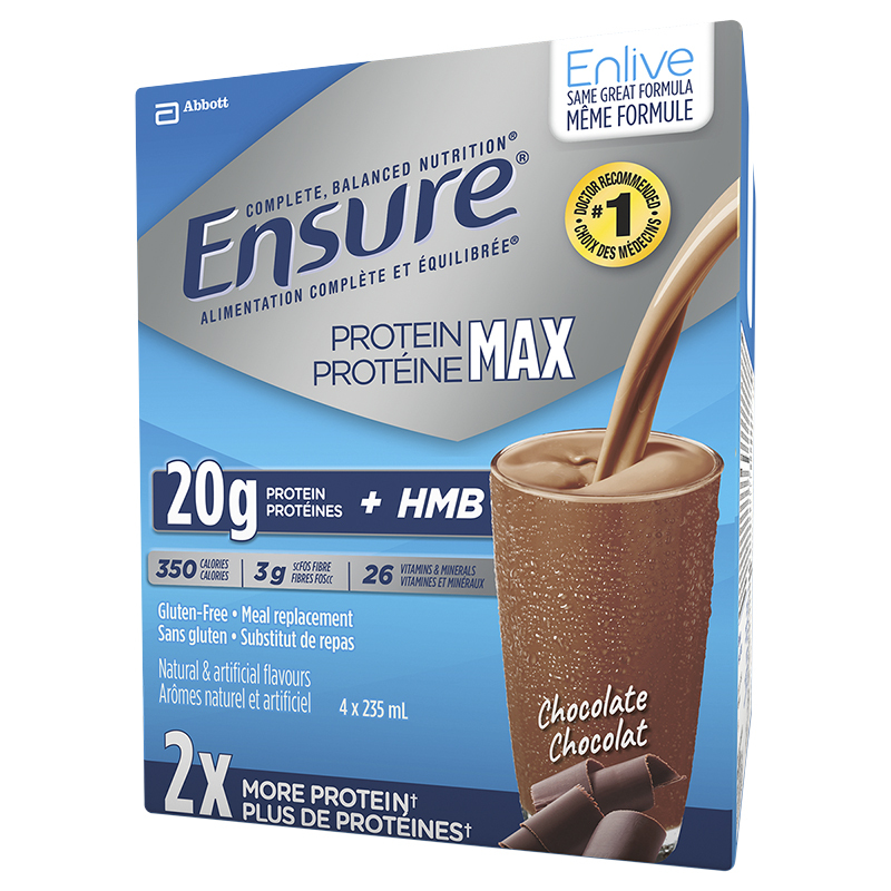 Ensure Protein Max - Chocolate - 4 x 235ml
