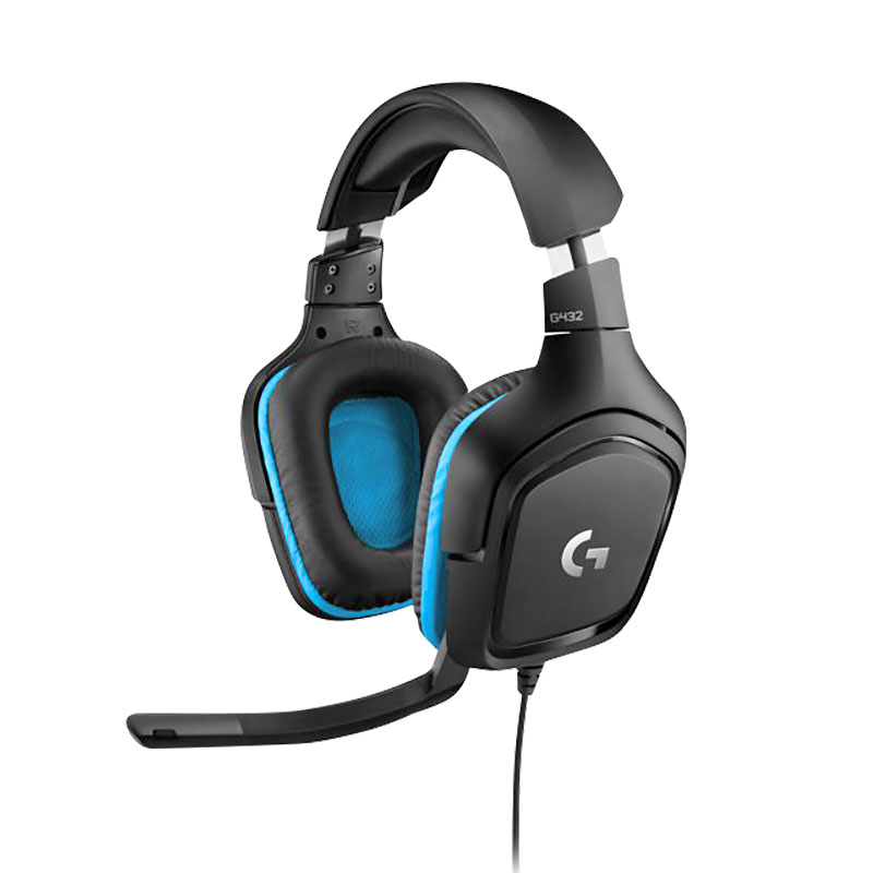 Logitech G432 7.1 Surround Sound Gaming Headset - 981-000769