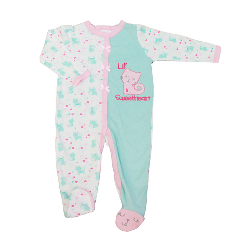 Baby Mode Lil' Sweetheart Coverall - 0-9 months - Assorted