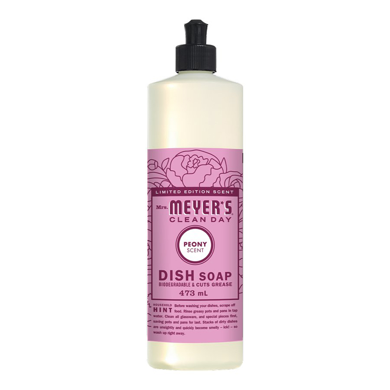Mrs. Meyer's Dish Soap - Peony - 473ml