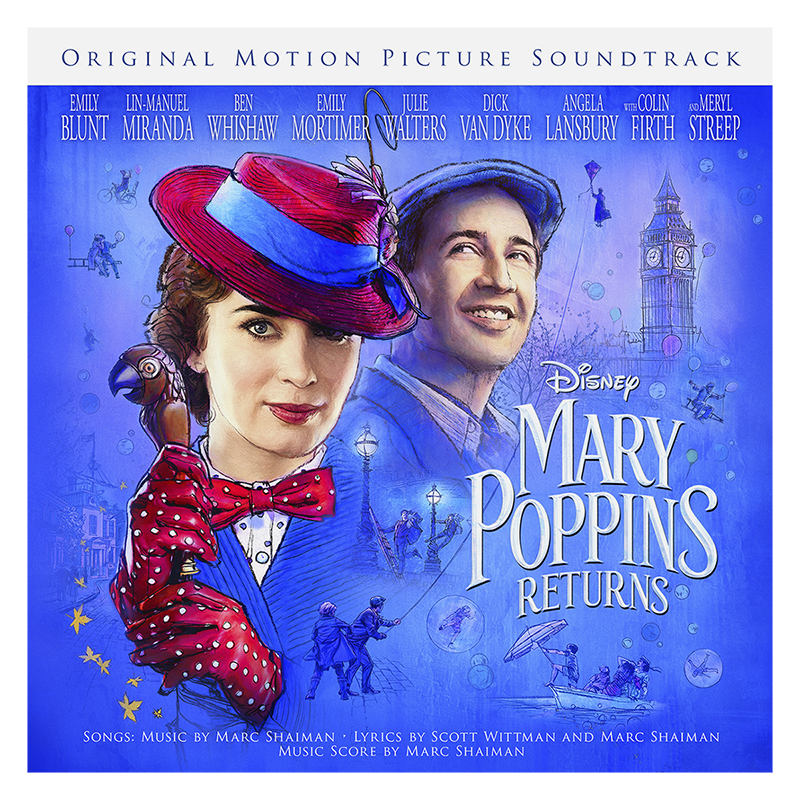 Soundtrack - Mary Poppins Returns (Original Motion Picture Soundtrack) - CD