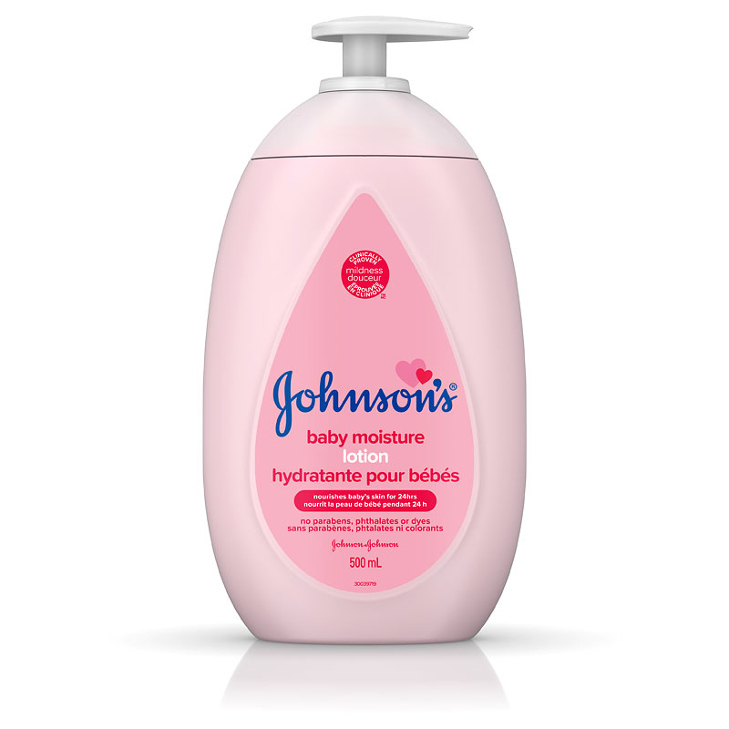 Johnson & Johnson Baby Moisture Lotion - 500ml