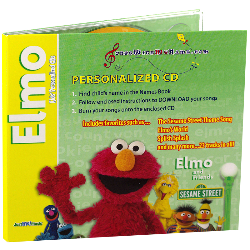 Elmo & Friends - Elmo Knows Your Name CD