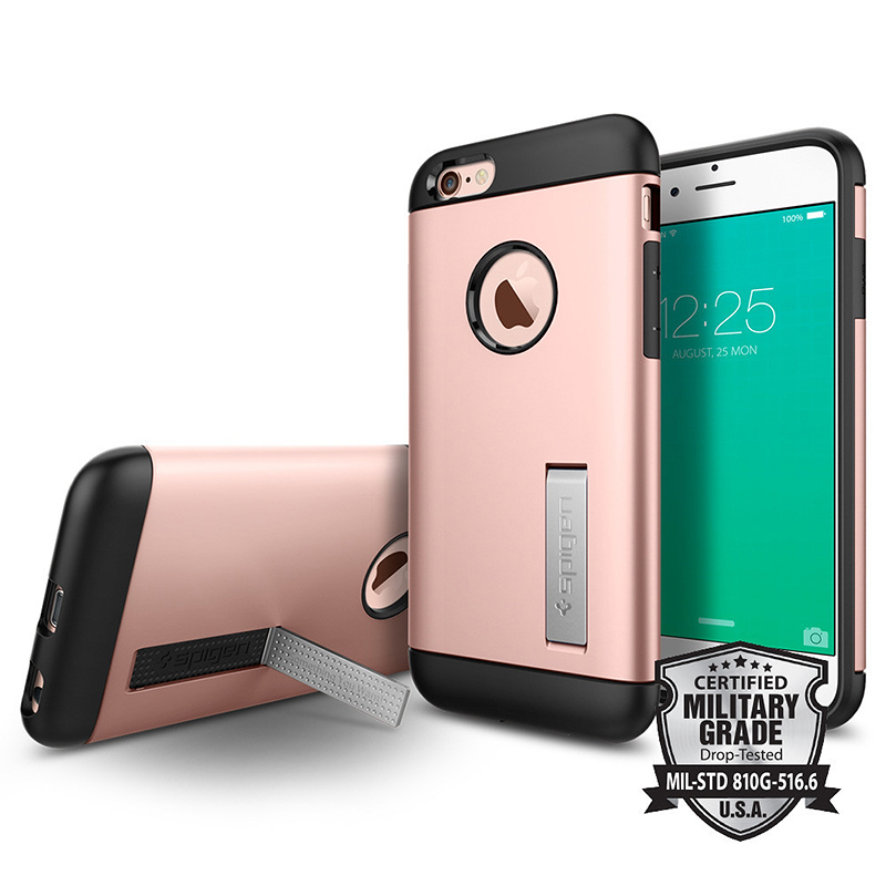 Spigen Slim Armor Case for iPhone 6/6s - Rose Gold - SGP11723