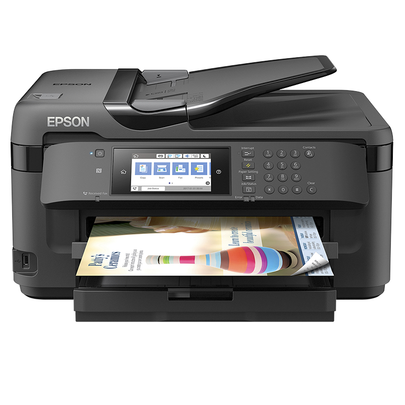 Epson WorkForce WF-7710 Wireless Wide-format All-in-One Printer