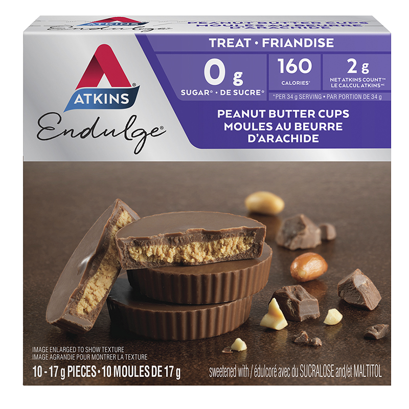 Atkins Endulge Treat - Peanut Butter Cups - 10 x 17g