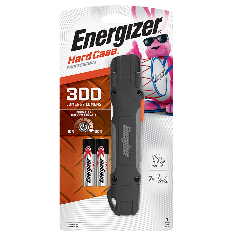 Energizer LED Task Light with Shatter-Proof Lens