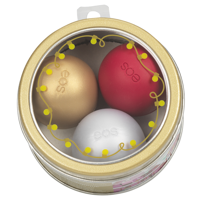 eos Lip Balm Holiday Collection - 3x 7g