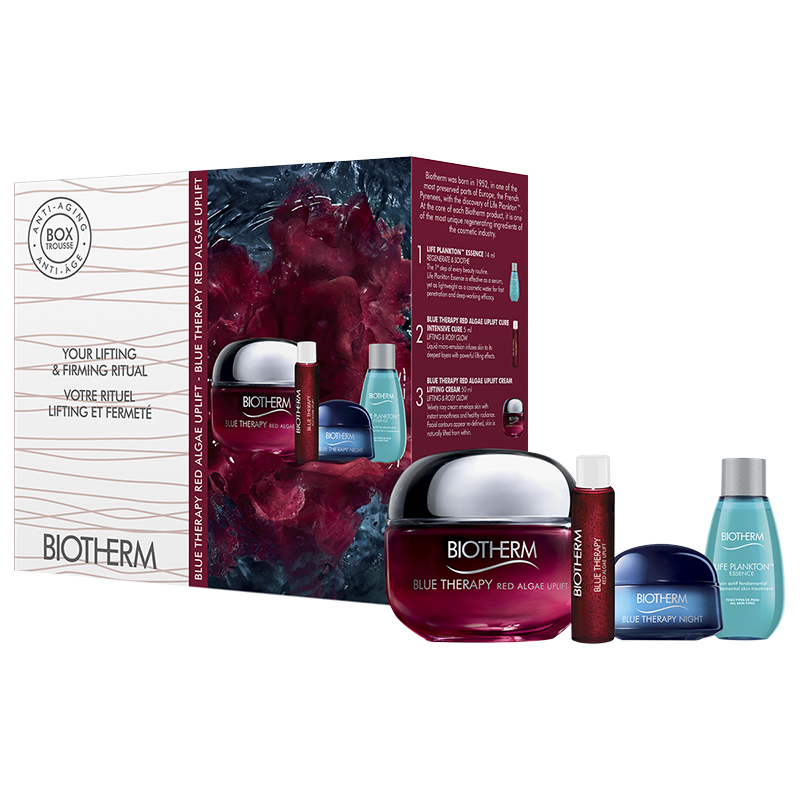 Biotherm Blue Therapy Red Algae Uplift Set - 4 piece