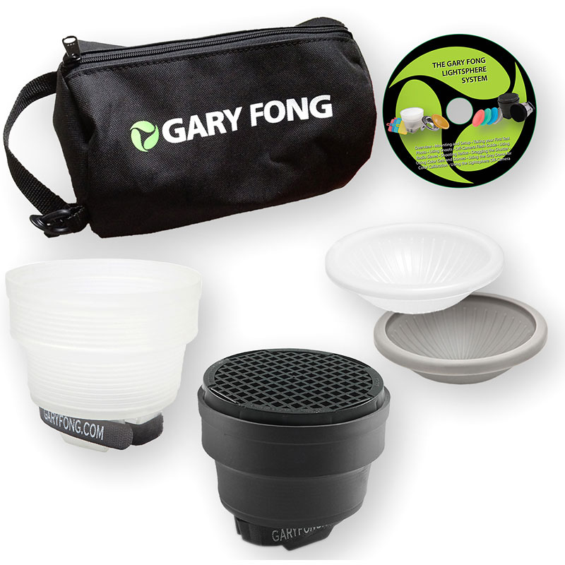 Gary Fong Lightsphere Collapsible G5 Lighting Kit: Portrait - LSC-SM-P