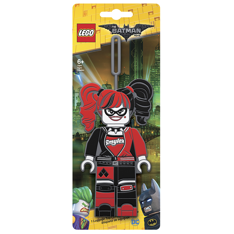 LEGO® Batman Luggage Tag - Harley Quinn