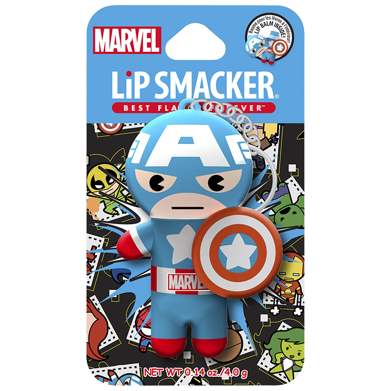 Lip Smacker Marvel Super Hero Lip Balm - Captain America