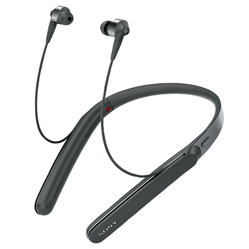 Sony Neckband Wireless Bluetooth Headphones - Black- WI1000XB