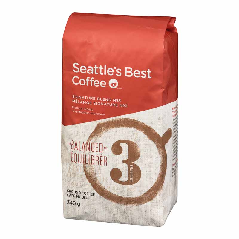 Seattle's Best Ground Coffee - Balanced - 340g