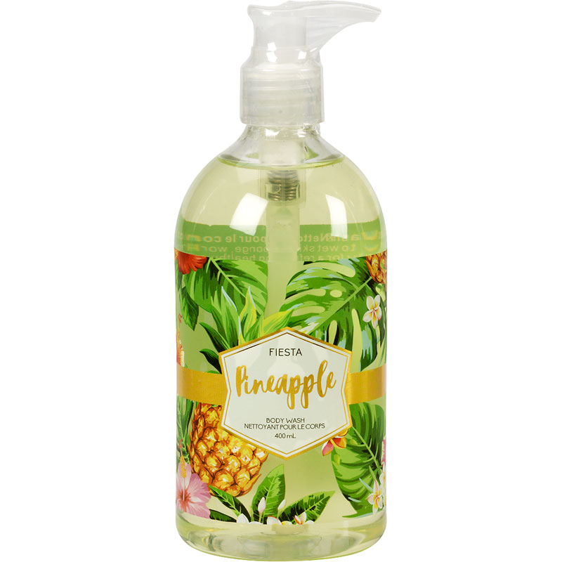 Fiesta Tropical Body Wash - Pineapple - 400ml