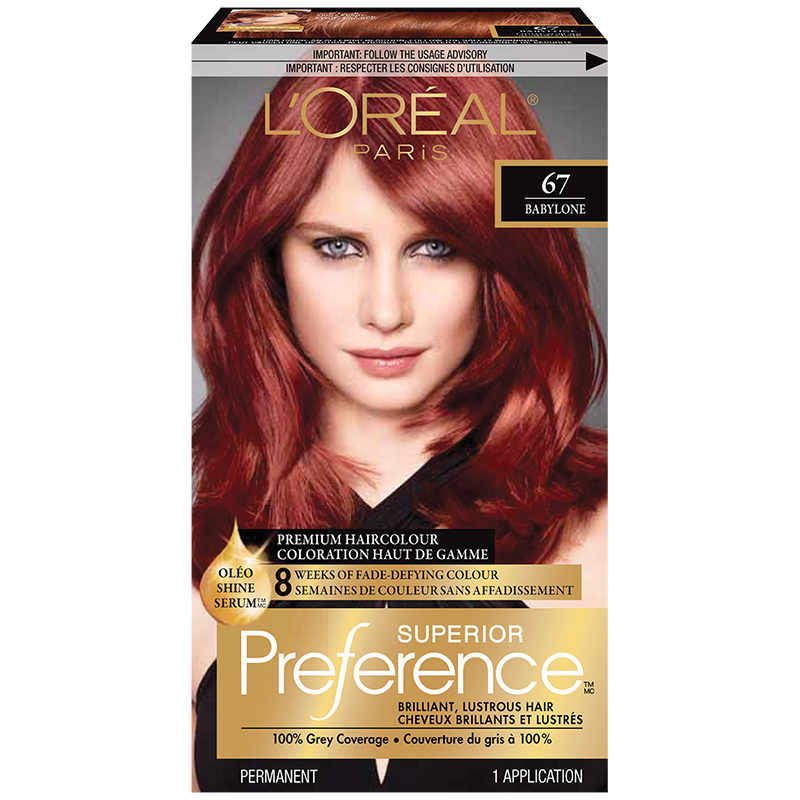 Loreal Superior Preference Fade Defying Colour Shine System 67