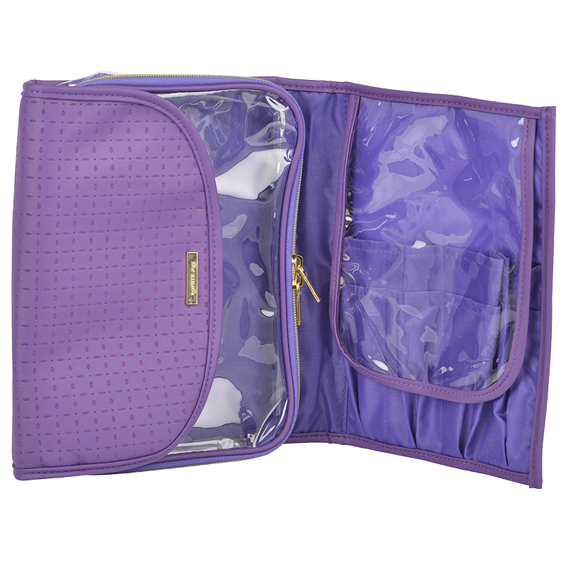 Sofia Joy Make-up Valet - Purple -A007253LDC